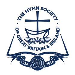 The Hymn Society of great Britain and Ireland 80th anniversary logo