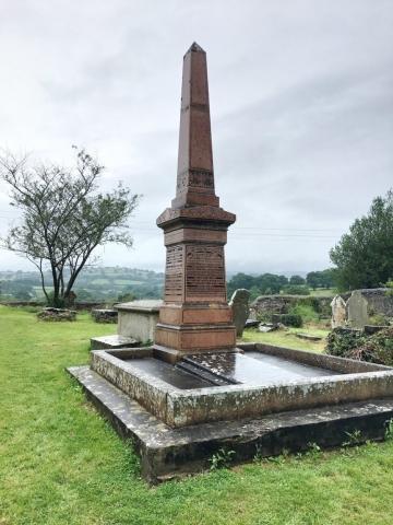 William Williams' memorial