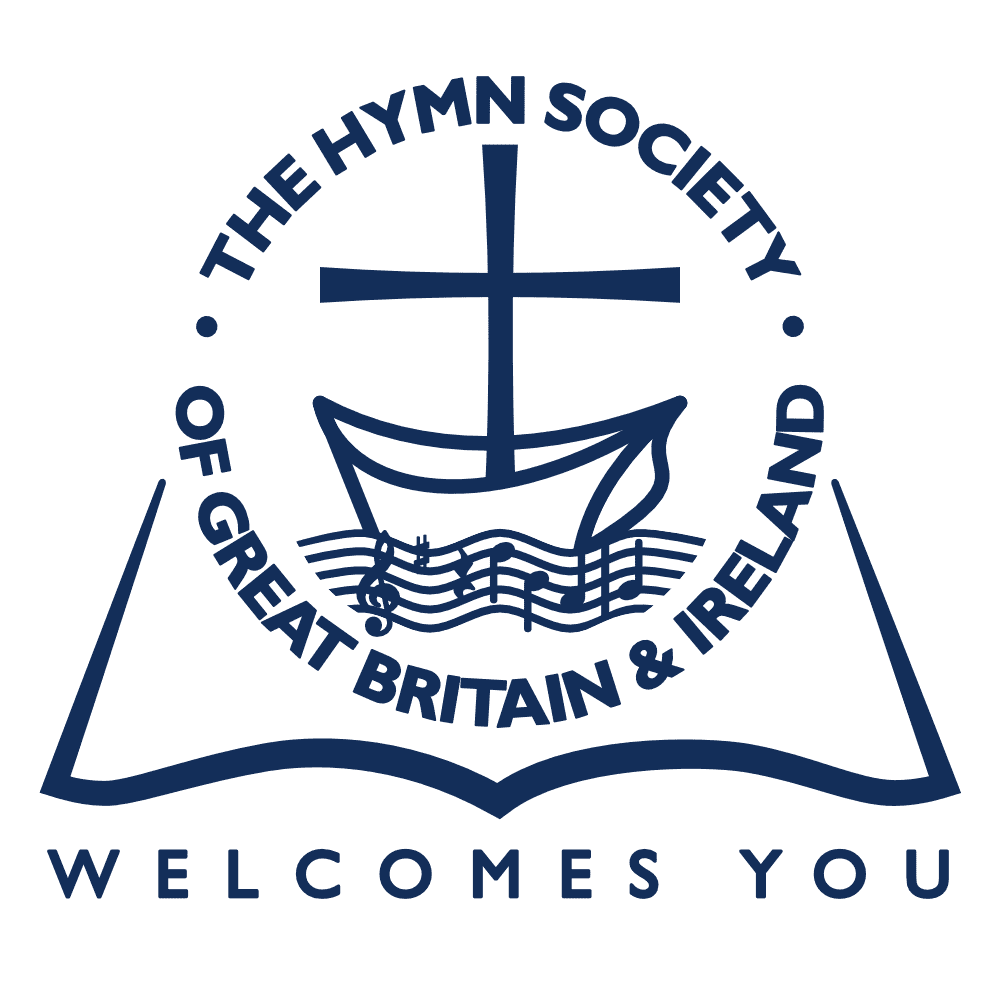 Hymn Society website weclome logo