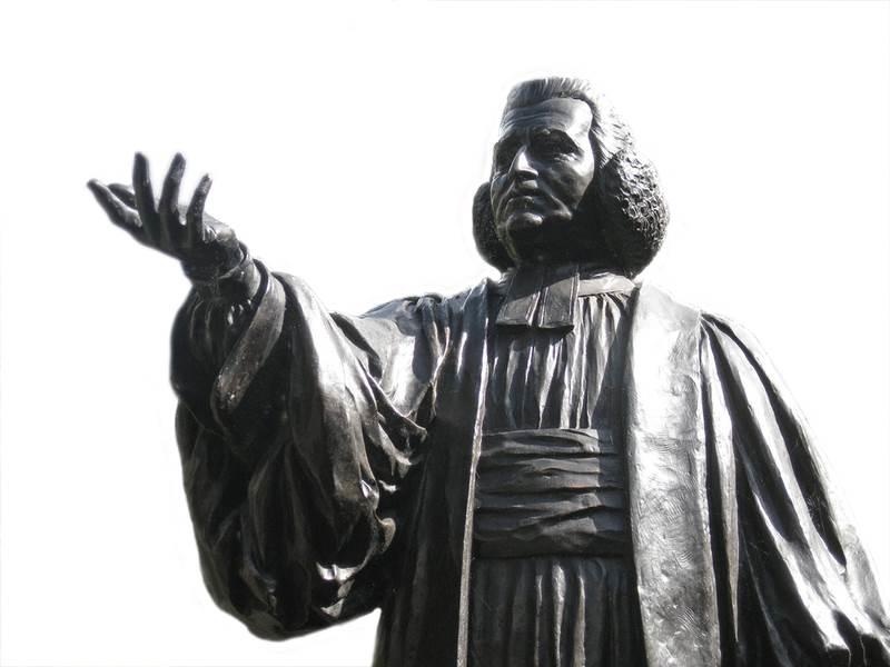 Charles Wesley statue