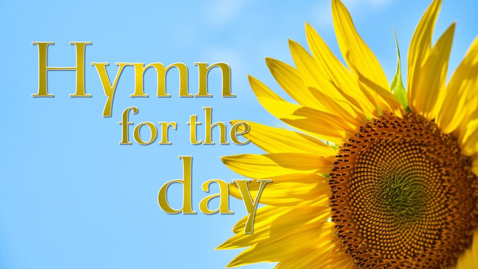 Hymn for the day graphic